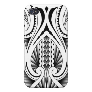 Motif tribal maori/polynésien de tatouage coques iPhone 4/4S