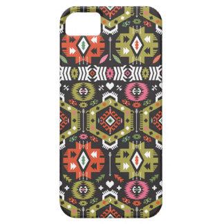 Motif tribal sans couture de hippie étuis iPhone 5