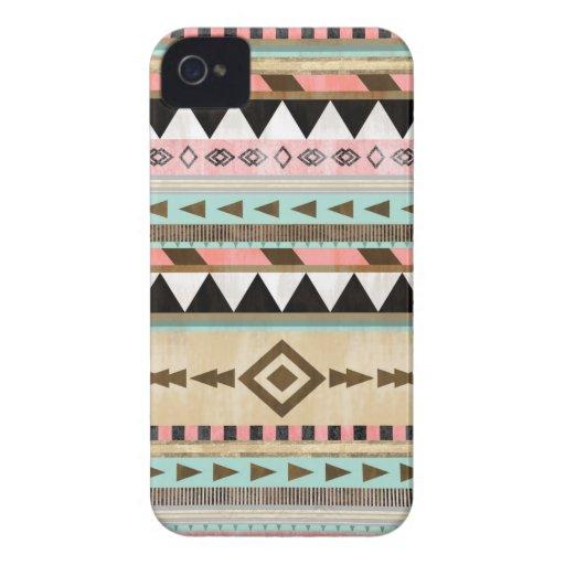 Motif tribal vintage coque iPhone 4