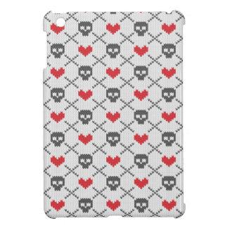 Motif tricoté avec des crânes coque iPad mini