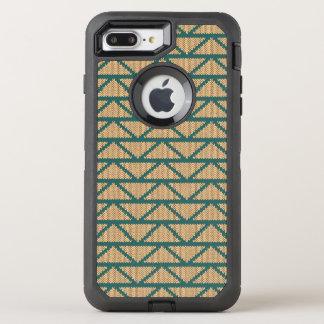 Motif tricoté par style ethnique coque otterbox defender pour iPhone 7 plus