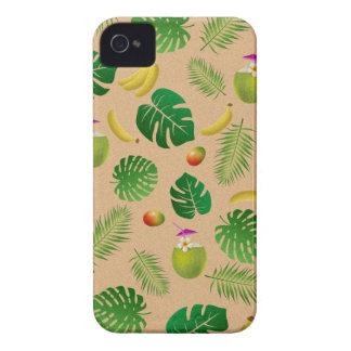 Motif tropical coques Case-Mate iPhone 4