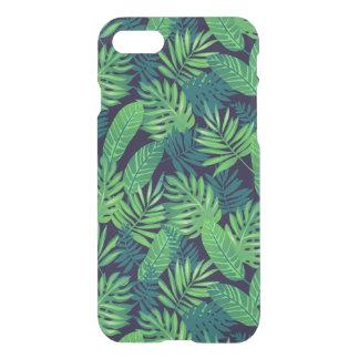 Motif tropical de feuille coque iPhone 7