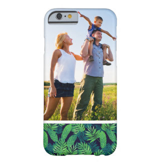 Motif tropical de feuille de photo faite sur coque barely there iPhone 6