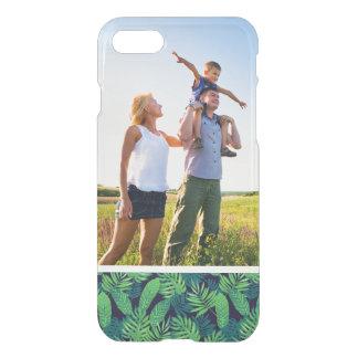 Motif tropical de feuille de photo faite sur coque iPhone 7