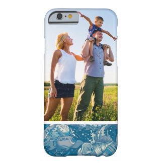 Motif tropical de mer de photo faite sur commande coque barely there iPhone 6