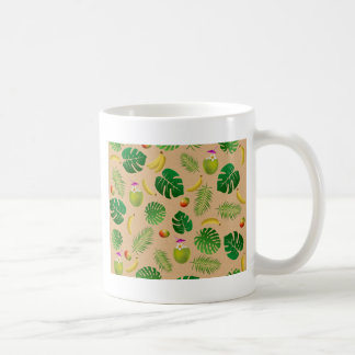 Motif tropical mug