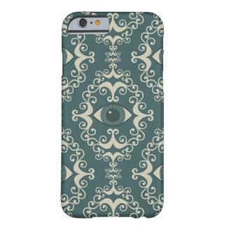 Motif turquoise de hippie d'oeil mauvais de damass coque barely there iPhone 6