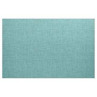 Motif turquoise mignon de tissu de jute de Faux de