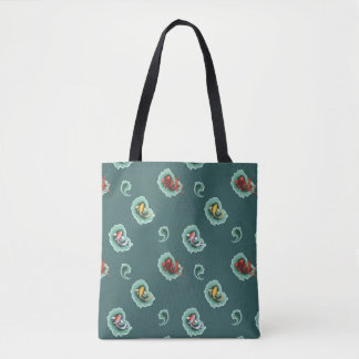 Motif unique de Koi Paisley Tote Bag