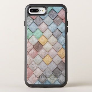 Motif unique de tuile coque otterbox symmetry pour iPhone 7 plus