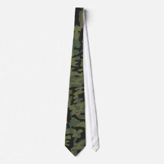 Motif vert de camo cravates personnalisables