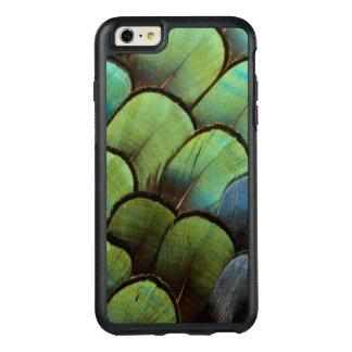 Motif vert de geather de faisan coque OtterBox iPhone 6 et 6s plus