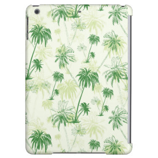 Motif vert de palmier