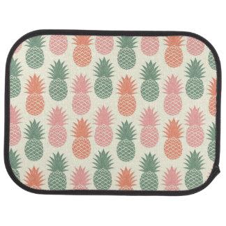 Motif vintage 2 d'ananas tapis de sol