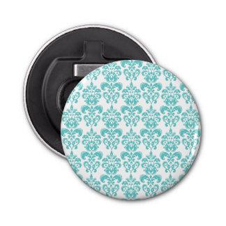 Motif vintage blanc turquoise mignon 2 de damassé