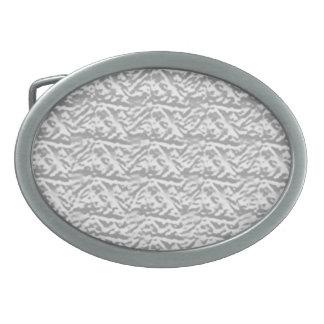 Motif vintage brillant de Silverline Boucle De Ceinture Ovale