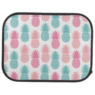 Motif vintage d'ananas tapis de voiture