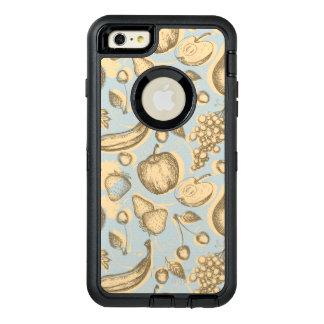 Motif vintage de fruits coque OtterBox iPhone 6 et 6s plus
