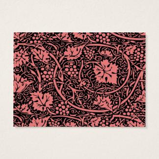 cartes de visite motif vintage papier peint personnalis es. Black Bedroom Furniture Sets. Home Design Ideas