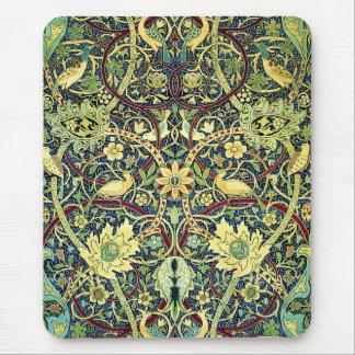 Motif vintage de tapis tapis de souris