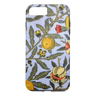 Motif vintage de William Morris, fruit Coque iPhone 8 Plus/7 Plus