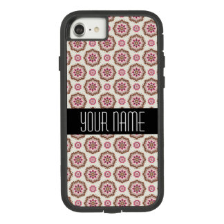 Motif vintage floral de style coque Case-Mate tough extreme iPhone 7