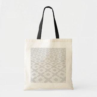 Motifs de pavé rond sac en toile