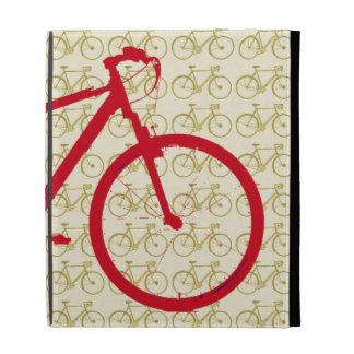 motifs graphiques de ~ de bicyclette coque folio iPad