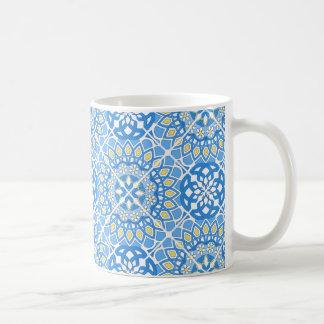 Motifs portugais de tuile mug