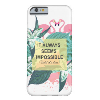 Motivation de flamant coque iPhone 6 barely there