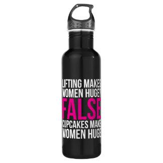 Motivation de forme physique de séance bouteille d'eau en acier inoxydable
