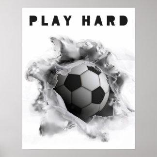 motivation du football affiches