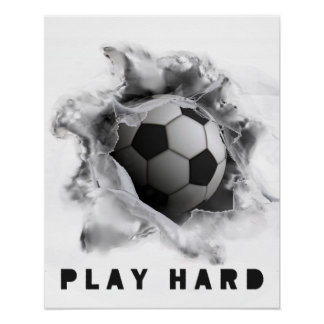 motivation du football poster