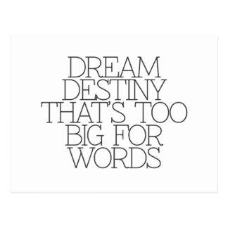 Motivation, inspiration, mots de la sagesse. cartes postales