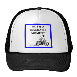 moto casquette trucker