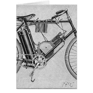 Moto de Bouilly, 1895 Cartes De Vœux