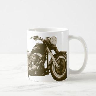 Moto de Brown Harley Mug Blanc