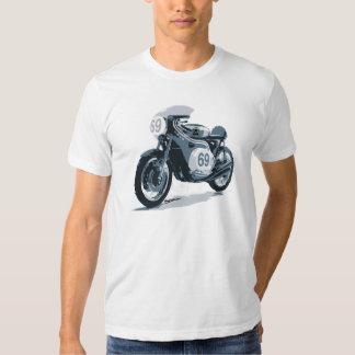 Moto de classique de coureur de café t-shirt