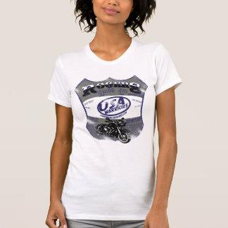 moto de guerriers des Etats-Unis par des bros de R T-shirts