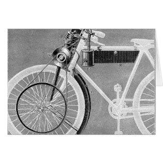Moto de Werner, 1898 Cartes De Vœux