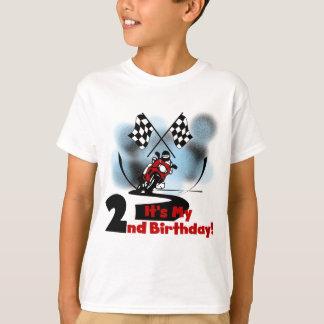Moto emballant les 2èmes T-shirts et cadeaux
