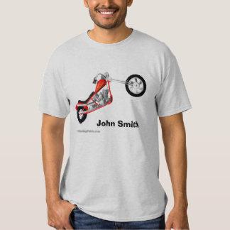 Moto faite sur commande de couperet t-shirt