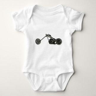 Moto faite sur commande grise t-shirt
