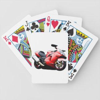 Moto Koolart Jeu De 52 Cartes