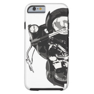 Moto noire de Harley