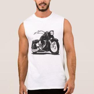 Moto noire de Harley T-shirts