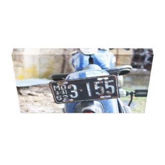 Moto vintage toiles