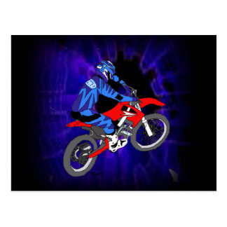 Motocross 203 carte postale