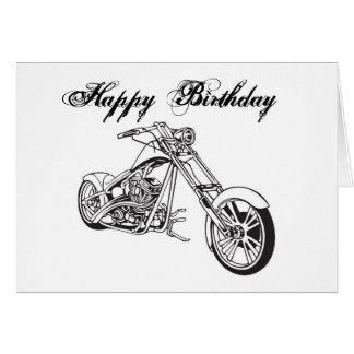 Motorcycle..2, joyeux anniversaire cartes de vœux
